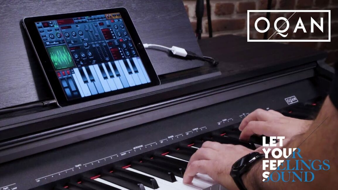 pianoforte Oqan QP88C
