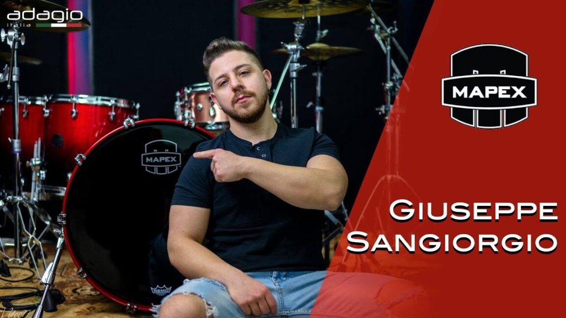 Giuseppe Sangiorgio Mapex Drums Italia